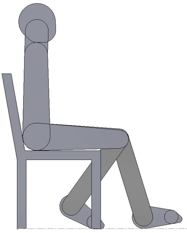 Joe Sitting in a Chair