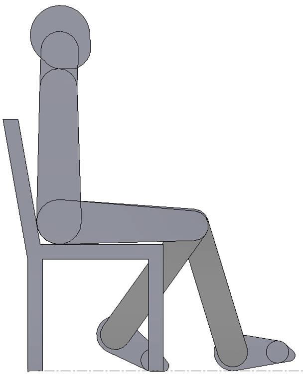 Joe sitting in Chair